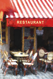 Restaurant Montmartre Giclee Print by Philippe Hugonnard