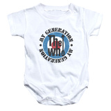 Infant: The Who- My Generation Distressed Onesie Infant Onesie