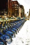 Citibike NYC Giclee Print by Philippe Hugonnard