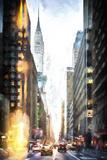 Manhattan Traffic Giclee Print by Philippe Hugonnard
