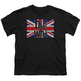 Youth: The Who- Flag Logo Shirt