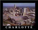 Carolina Panthers - Bank of America Stadium Mounted Print by Brad Geller