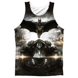 Tank Top: Batman: Arkham Knight- Poster Tank Top