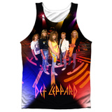 Tank Top: Def Leppard- On Stage Tank Top