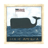Sea of America Poster by Cindy Shamp