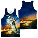 Tank Top: Back To The Future- Movie Poster (Front/Back) Tank Top