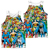 Tank Top: Justice League- Original Universe (Front/Back) Tank Top