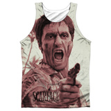 Tank Top: Scarface- War Cry Tank Top