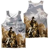 Tank Top: John Wayne- Ride Em Cowboy (Front/Back) Tank Top