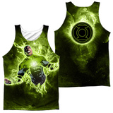 Tank Top: Green Lantern- Inner Strength (Front/Back) Tank Top
