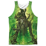 Tank Top: The Lord Of The Rings: The Return Of The King- Treebeard (Black Back) Tank Top