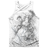 Tank Top: Superman- Pencil City To Space Tank Top