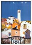 Ticino Print by Daniele Buzzi