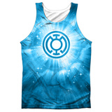Tank Top: Green Lantern- Blue Energy Tank Top