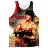Tank Top: Rambo First Blood Ii- Become War Tank Top