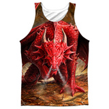 Tank Top: Anne Stokes- Dragon's Lair Tank Top