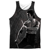 Tank Top: Bruce Lee- Dragon Print Tank Top