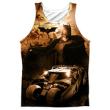 Tank Top: Batman Begins- Batsmobile Tank Top