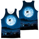 Tank Top: E.T.- Moon (Front/Back) Tank Top