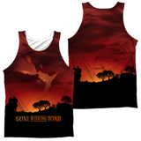 Tank Top: Gone With The Wind- Sunset (Front/Back) Tank Top