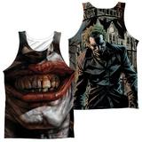 Tank Top: Batman- Asylum (Front/Back) Tank Top