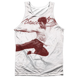 Tank Top: Bruce Lee- Expectations (Black Back) Tank Top