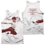 Tank Top: Bruce Lee- Expectations (Front/Back) Tank Top