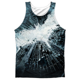 Tank Top: Dark Knight Rises- Big Poster Tank Top