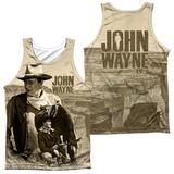 Tank Top: John Wayne- Stoic Cowboy (Front/Back) Tank Top