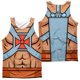 Tank Top: Masters Of The Universe- He-Man Costume Tee (Front/Back) Tank Top