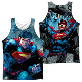 Tank Top: Superman- Rumble (Front/Back) Tank Top