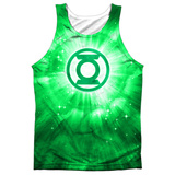 Tank Top: Green Lantern- Green Energy Tank Top