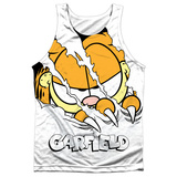 Tank Top: Garfield- Torn Tank Top
