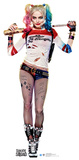 Harley Quinn - Suicide Squad Lifesize Cardboard Cutout Cardboard Cutouts