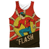 Tank Top: The Flash- Vintage Jay Garrick Tank Top