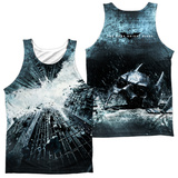 Tank Top: Dark Knight Rises- Big Poster (Front/Back) Tank Top