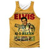 Tank Top: Elvis Presley- Gi Blues Tank Top