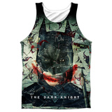 Tank Top: Dark Knight- Stacked Hand Tank Top