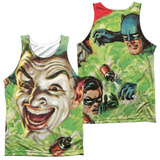 Tank Top: Batman Classic TV- Laugh Gas (Front/Back) Tank Top