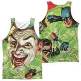 Tank Top: Batman Classic TV- Laugh Gas (Front/Back) Tank Top