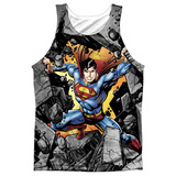 Tank Top: Superman- Break On Through Tank Top