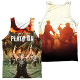 Tank Top: Platoon- Key Art (Front/Back) Tank Top