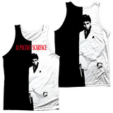 Tank Top: Scarface- Big Poster (Front/Back) Tank Top