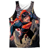 Tank Top: Superman- Up Up Tank Top