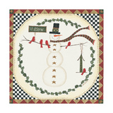 Let it Snow Snowman Posters by Cindy Shamp