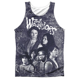 Tank Top: Warriors- Moody Streets Tank Top