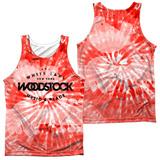 Tank Top: Woodstock- Tie Dye (Front/Back) Tank Top