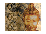 Golden Buddha II Prints by Kari Brooks
