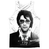 Tank Top: Elvis- Mugshot Tank Top