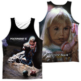 Tank Top: Poltergeist Ii- Poster (Front/Back) Tank Top